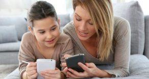 La madre que reguló por contrato el uso excesivo del móvil de sus hijos