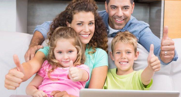 privacidad en redes sociales de la familia