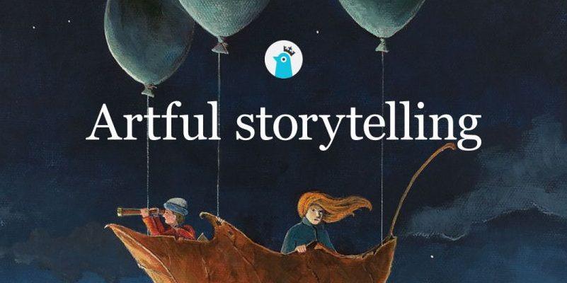 Storybird es una web pensada para crear tu propia historia