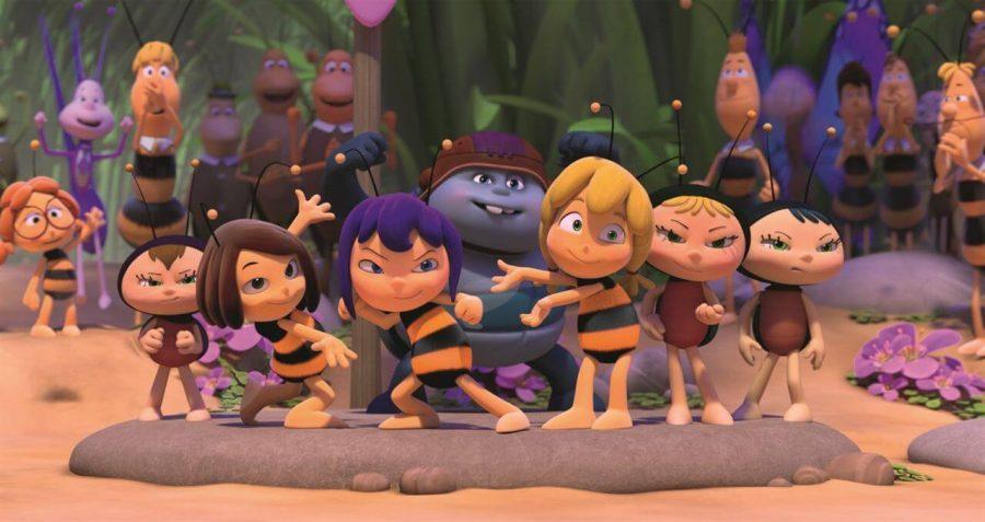 estreno de la película la abeja maya los juegos de la miel