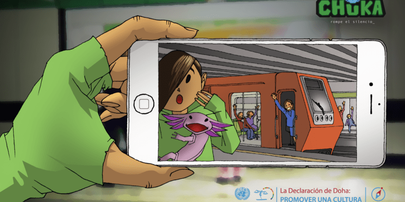 'Chuka', el juego online infantil contra la violencia de género