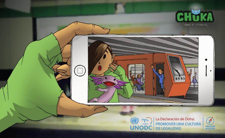 Chuka,el juego online infantil contra la violencia de género