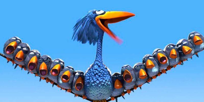 Cortos infantiles de Pixar