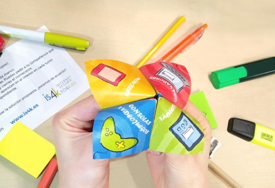 juego para enseñar ciberseguridad a los niños
