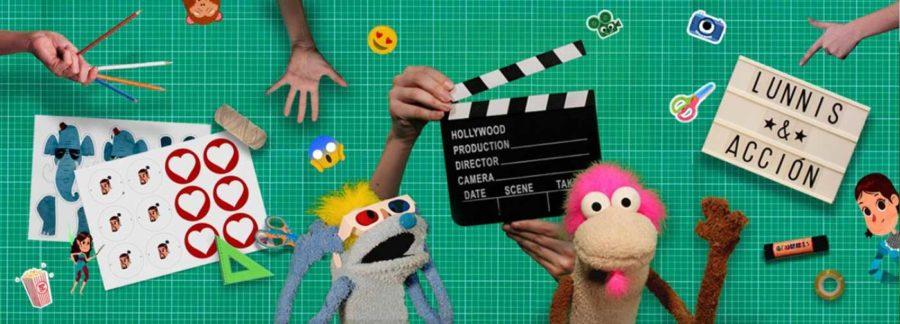 Lunnis y...¡acción!, manualidades para niños
