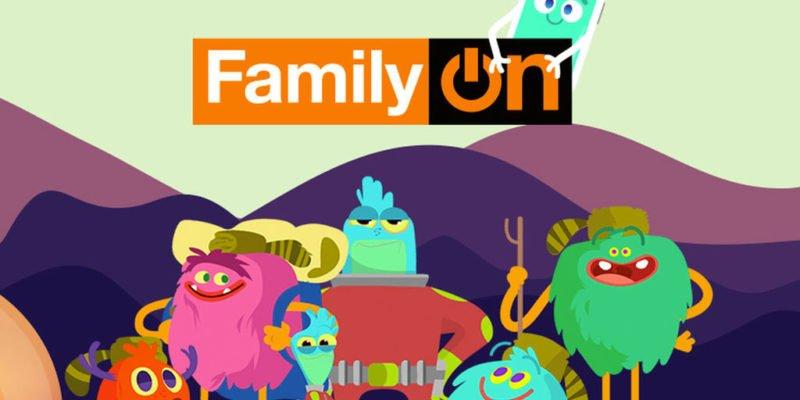 FamilyOn, una web para disfrutar de la tecnología en familia