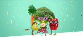 '5 al día', la web infantil sobre frutas y hortalizas