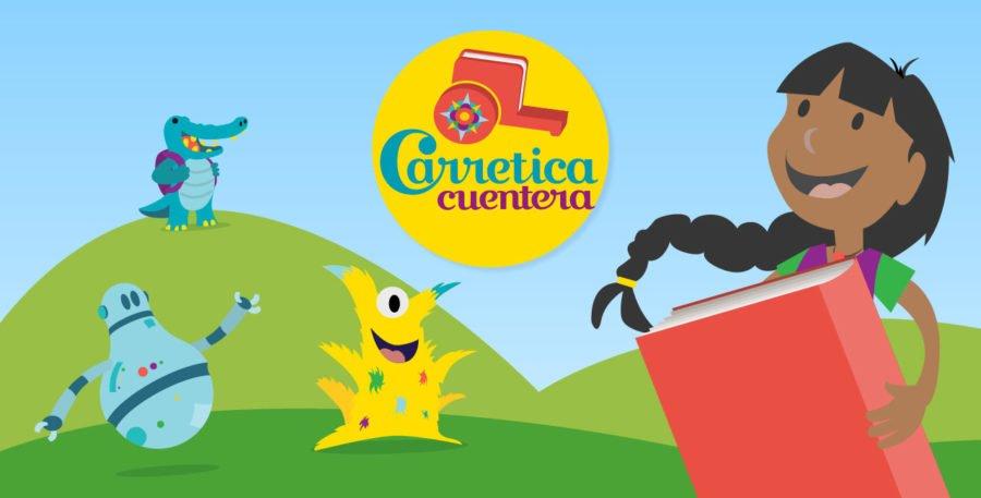 Buscar soluciones contra el bullying en la app Carretica Cuentera.