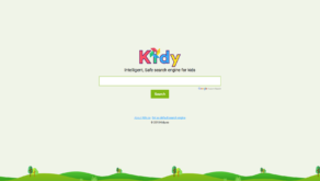 kidy, el buscador seguro para niños