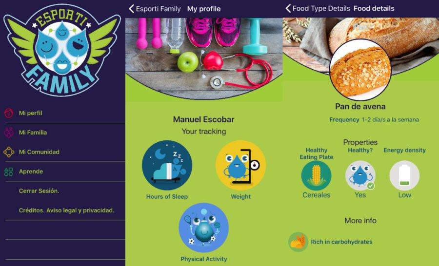 app gratuita para combatir la obesidad en familia