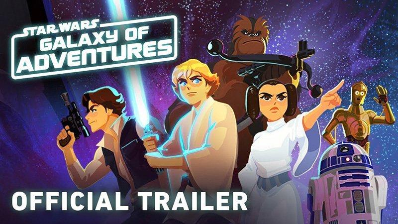 Nueva serie infantil Star Wars:Galaxy of Adventures.