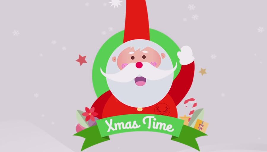Ya puedes hablar con Papá Noel con la app XmasTime