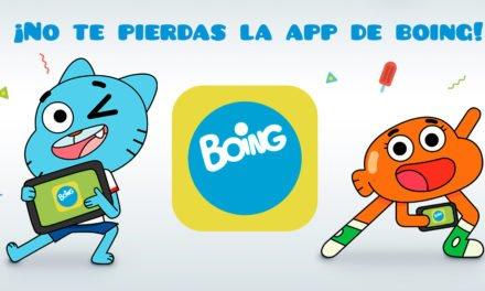 Boing estrena su nueva app infantil de series y juegos