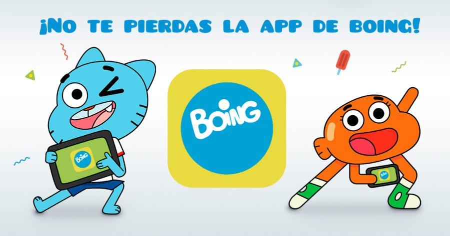 app infantil de boing