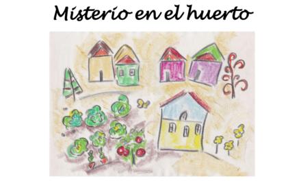 'Misterio en el huerto', un cuento infantil para que los niños coman frutas y verduras