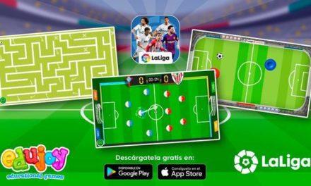LaLiga lanza una app infantil para desarrollar habilidades cognitivas