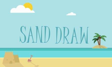 Sand Draw, la app infantil para dibujar en la arena