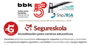 Segureskola : Educación digital + Ciberseguridad