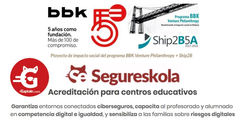 Segureskola : Educación digital + Ciberseguridad