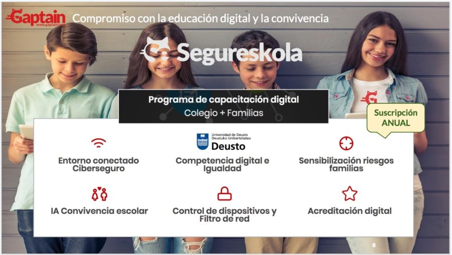 segureskola kids centric educación digital ciberseguridad