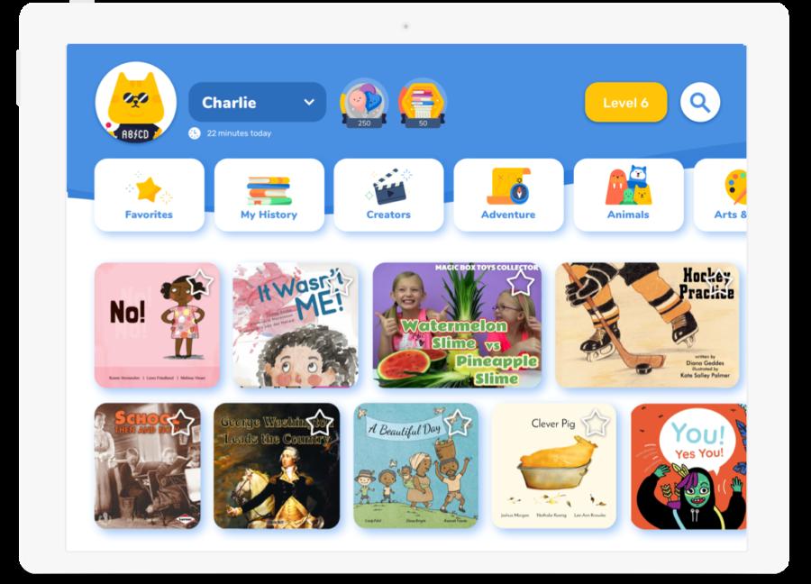 Rivet, la app infantil gratuita para aprender a leer en inglés.