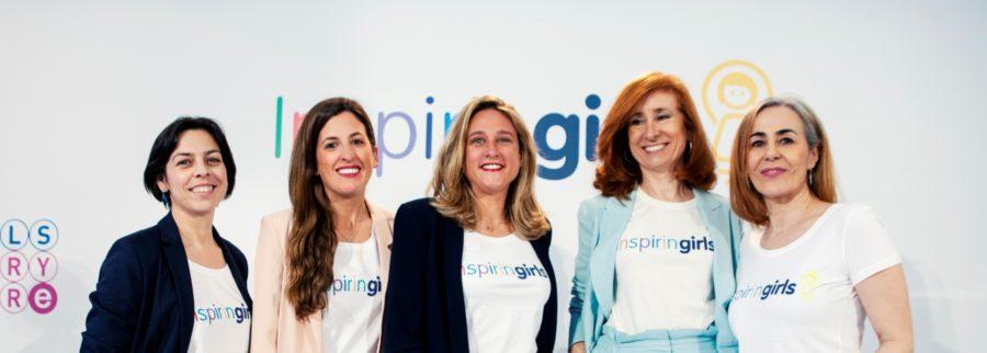 Inspiring girls, una plataforma online para inspirar a las niñas y adolescentes.
