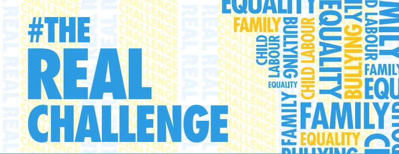 #TheRealChallenge, la campaña de la UE y UNICEF que da voz a los niños en Tik Tok