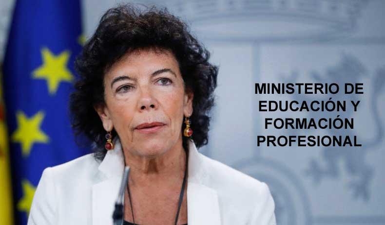 isabel delaa ministra educacion