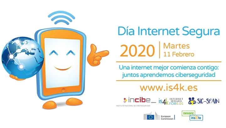 Incibe convoca un concurso para centros educativos con motivo del Día de Internet Segura 2020
