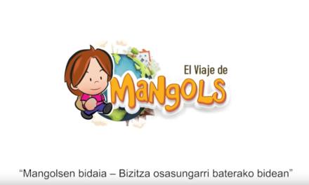 'El viaje de Mangols', un juego interactivo contra la obesidad infantil diseñado por Osakidetza