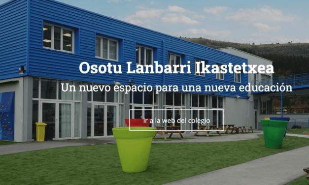 Osotu Lanbarri ikastetxea, nueva escuela para todos y todas