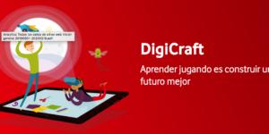 DigiCraft, educación en competencias digitales para niños y niñas