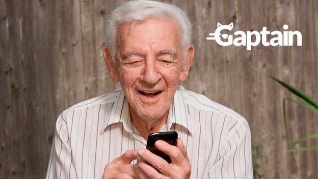 gaptain personas mayores