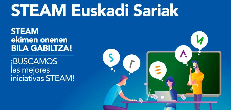 STEAM Euskadi Sariak, premios a la innovación educativa