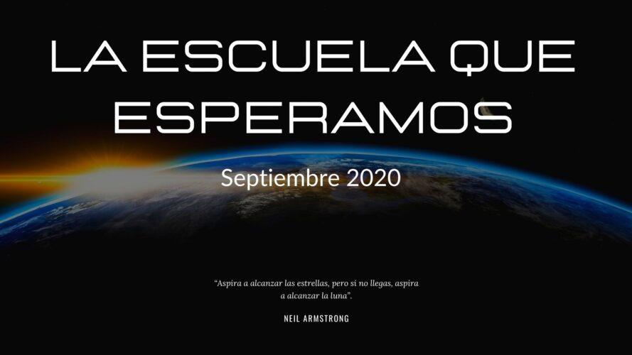 la escuela que esperamos septiembre 2020