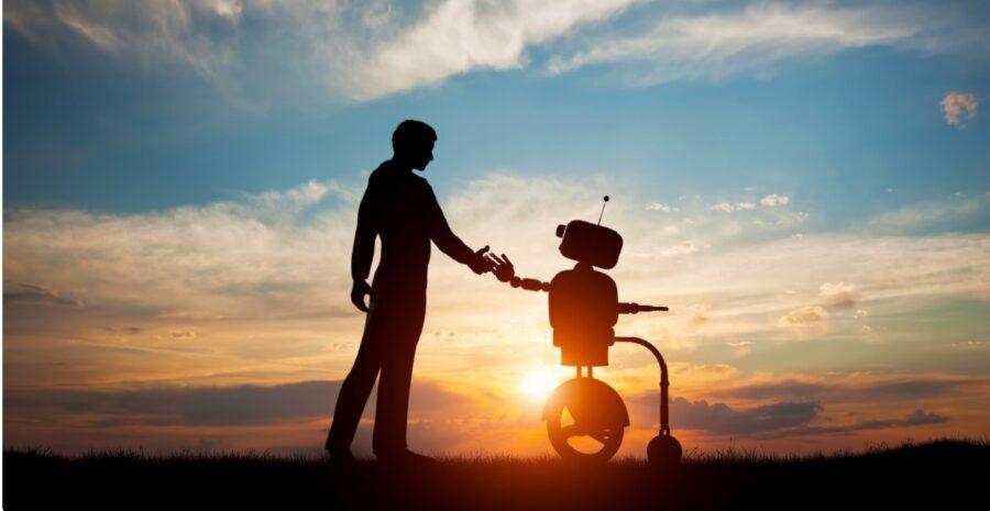 robot y humano nuevos retos: La educación digitala