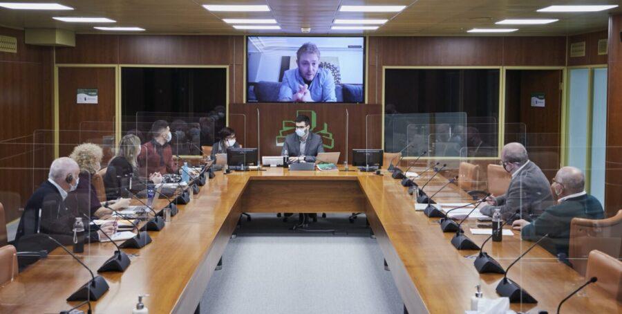 gaptain en parlamento vasco 2021