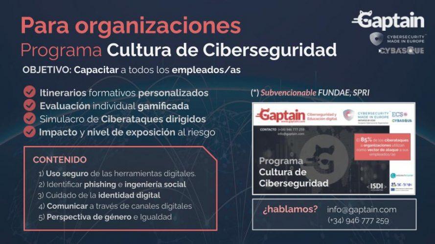 cultura de ciberseguridad